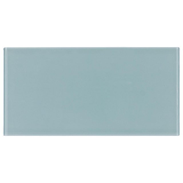 Cosmopolitan Blue Glass Subway Tile