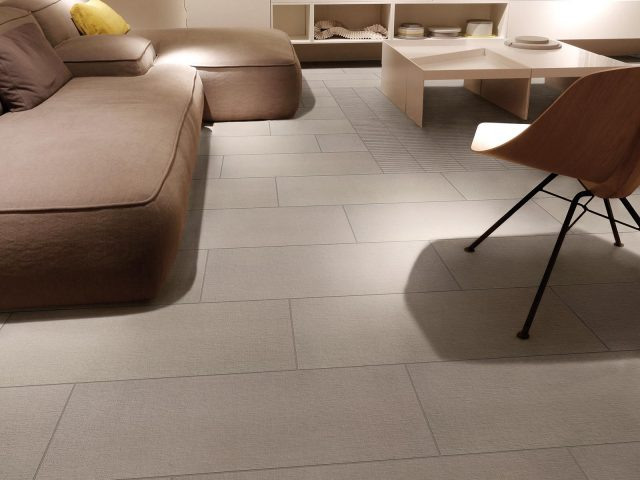 Foulard Linen Look Porcelain Tile Collection in Beige