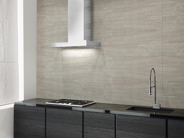 Incomparable Collection Paonazzo and Gioia Tiles Installation