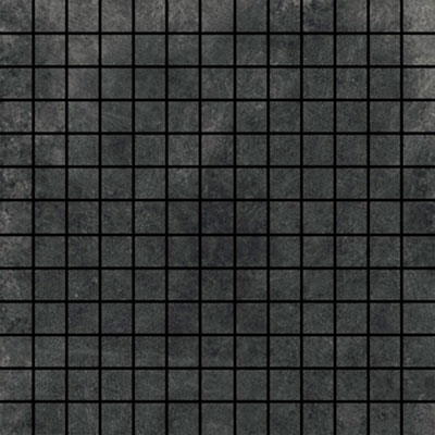 Ithaca Dark Grey Small 1x1 Mosaic Tile