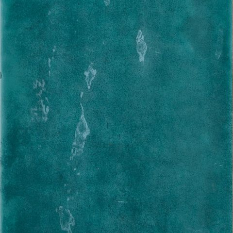 Lively Dark Teal Bohemian-Style Wall Tile
