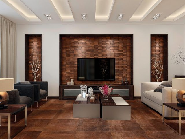 Nexa Industrial-Feel Porcelain Tile Collection - Copper Installation