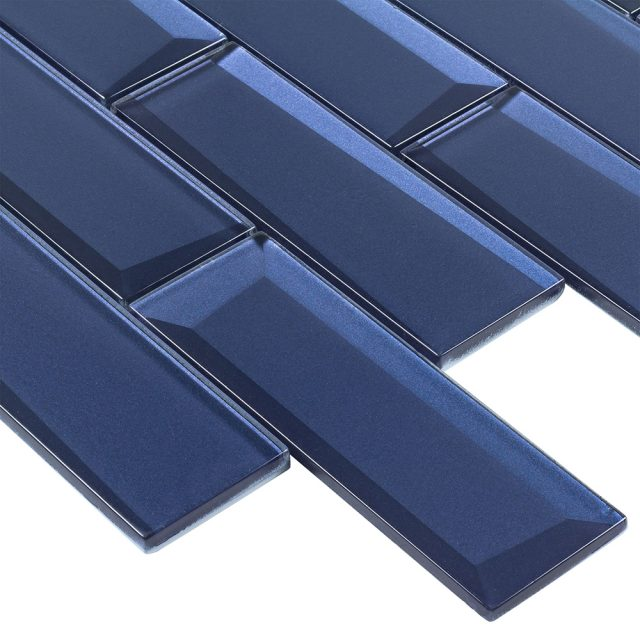 Outlast Blue Glass Wall Tile