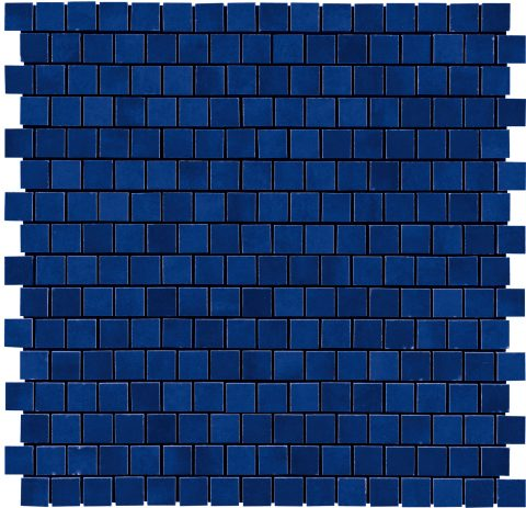 Lively Mosaic Dark Blue