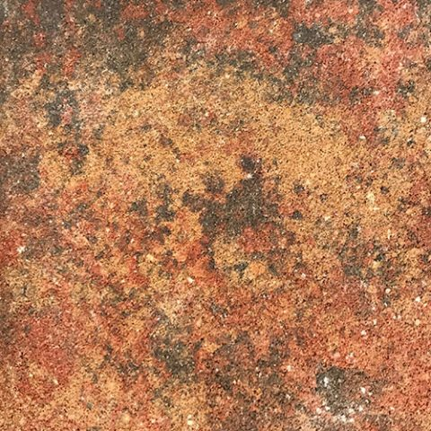 Pavers Red Orange Mottled