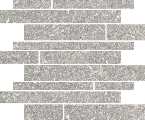Iseo Linear Light Grey Mosaic