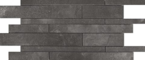 Business Charcoal Linear Mosaic Tile