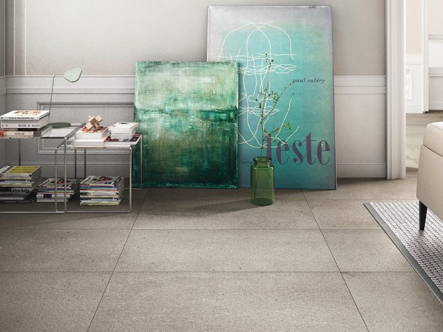 Calcare Porcelain Floor Tile Installation