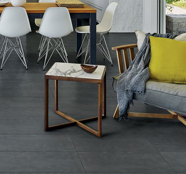Compound Collection in 12x24 Coal Porcelain Tile