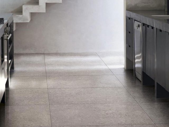 County Porcelain Tile Collection Installation