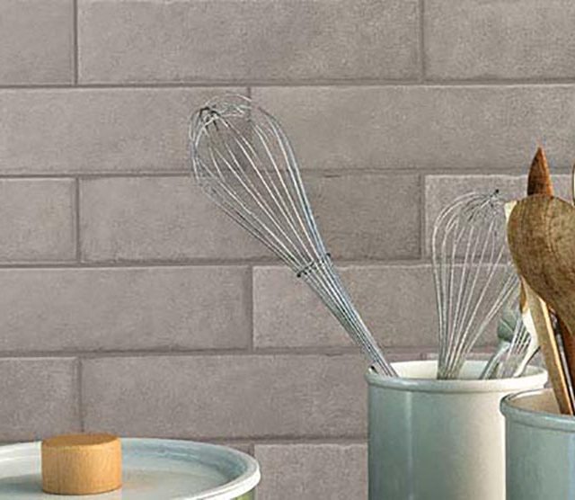 Roundabout Contemporary Porcelain Tile Collection - 3x11 inch Installation