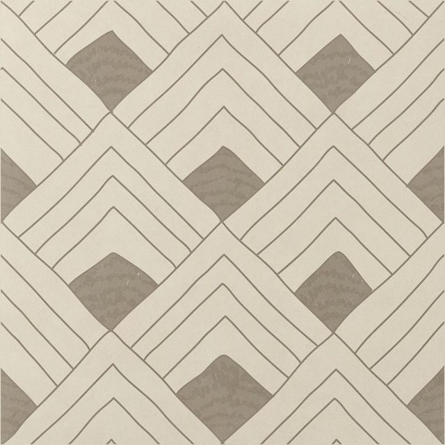 Tangle Fish Warm Patterned Porcelain Tile