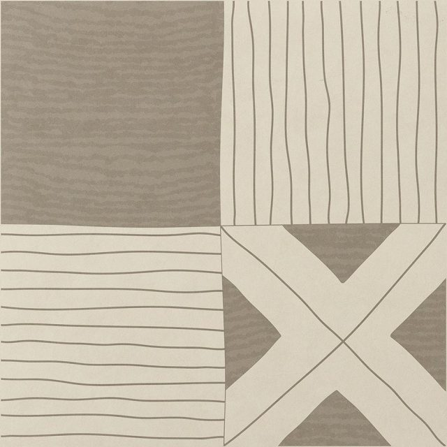 Tangle Medley Warm Patterned Porcelain Tile