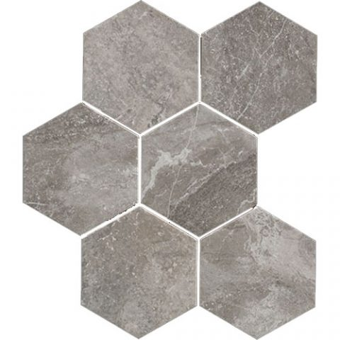 Retreat Grey Hexagon