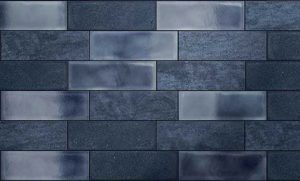 Inside Blue Textured Tile