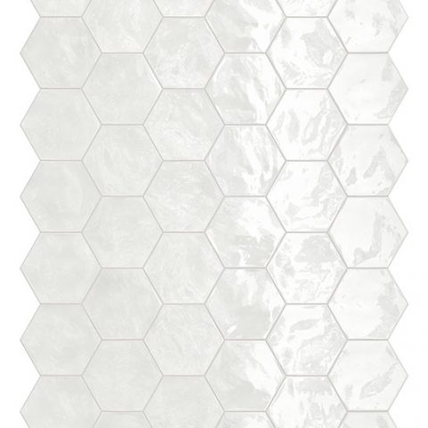 Placid Hex Mosaic Porcelain Tile Collection Creative