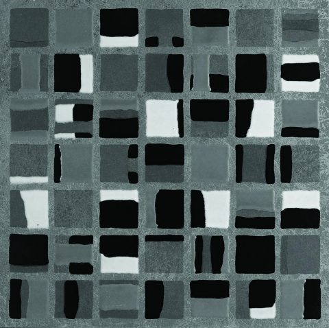 Walkway Color Block Mosaic Charcoal